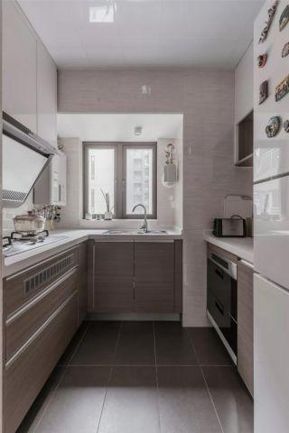 浪漫厨房岛台装修实景图