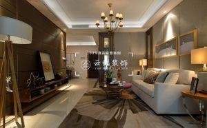 干净客厅现代简约设计