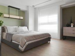 干净卧室现代实景图