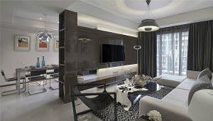2019现代简约90平米装饰设计 2019现代简约二居室u乐娱乐平台设计