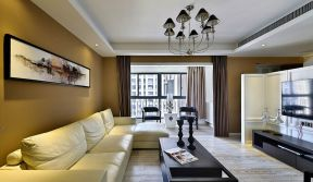 美观大方原木色客厅装修效果图大全
