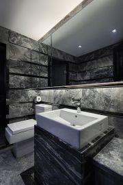 卫生间洗漱台现代简约装修案例