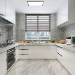 现代厨房橱柜装饰图
