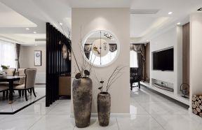 中式客厅照片墙装修美图