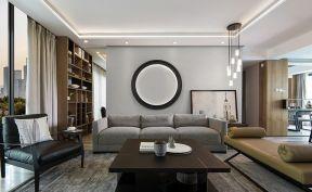 现代简约客厅沙发室内装饰