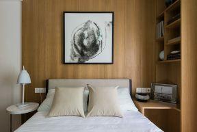 朴素温馨白色卧室室内装饰