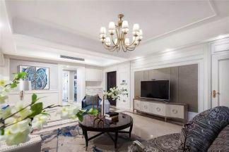 160平米轻奢欧式大宅三房彰显精致古典图片欣赏