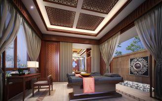 2019东南亚300平米以上装修效果图片 2019东南亚别墅装饰设计
