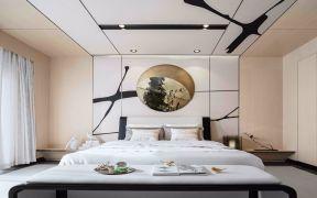 2019新中式卧室装修设计图片 2019新中式背景墙装饰设计