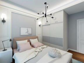 眩亮现代简约白色背景墙装修方案