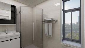 卫生间白色推拉门设计图欣赏
