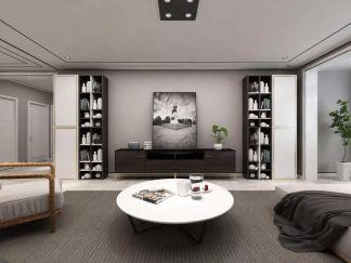 高贵风雅客厅现代简约装修案例效果图