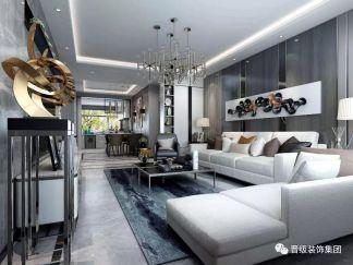 精雕细刻白色沙发装饰实景图