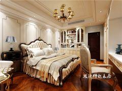 卧室背景墙欧式案例图片