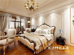 美观大方欧式白色床构造图