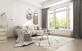 时尚白色客厅室内装饰