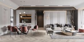 奢华客厅现代简约案例图片