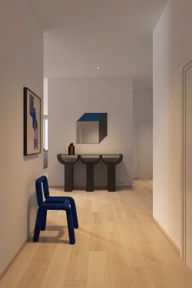 玄关走廊现代简约装潢设计图片