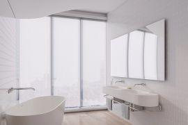 创意现代简约白色吊顶效果图