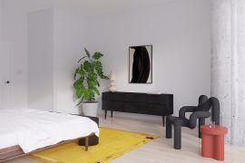 现代简约卧室吊顶装修图片
