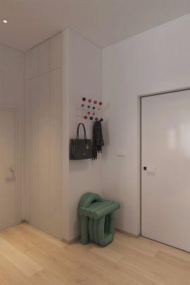 眩亮原木色走廊装潢设计图片