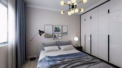 舒适米色卧室装修图片