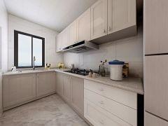 小巧玲珑厨房简欧装饰图片