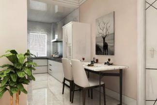 北欧厨房餐桌室内装修图片