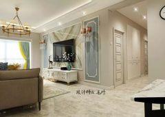 质朴暖色系地砖室内装修图片