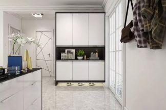 设计优雅现代白色吊顶装修案例