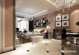客厅米色地砖装饰效果图