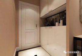 玄关鞋柜现代装修实景图
