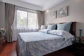 舒适老人卧室美式装潢实景图片