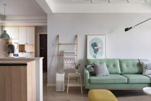 客厅沙发北欧装修效果图大全