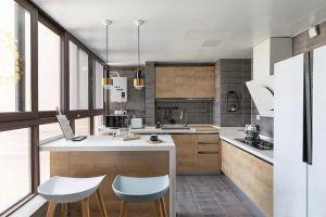 2020北欧厨房装修图 2020北欧吧台装修设计图片