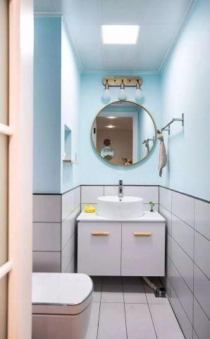 典丽矞皇白色卫生间设计图欣赏