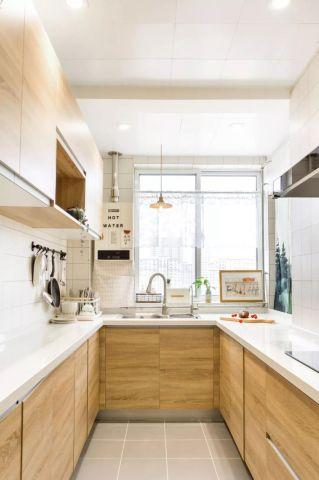 厨房橱柜日式室内装修图片