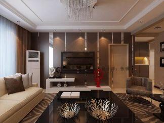 华丽客厅现代装潢实景图