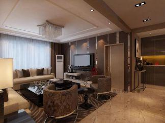 客厅灰色沙发效果图大全