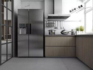 唯美厨房橱柜装潢图片