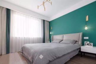 典丽矞皇绿色背景墙装修设计图片