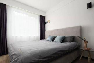 卧室黑白灰细节家装设计