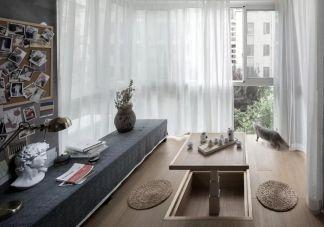 阳台落地窗北欧室内装饰