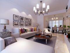 质朴客厅现代装潢图片