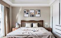 唯美卧室床装修实景图