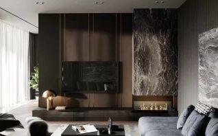 个性客厅现代室内装饰
