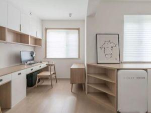 2019日式90平米装饰设计 2019日式三居室装修设计图片