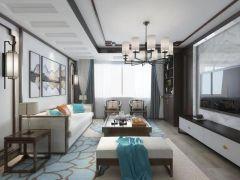 2019中式90平米装饰设计 2019中式二居室装修设计