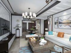 2019中式110平米装修设计 2019中式二居室装修设计