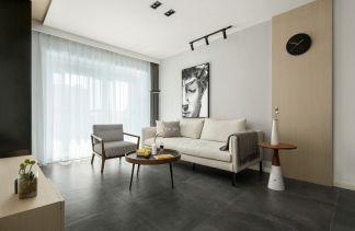 简约清新中式90平米2居室